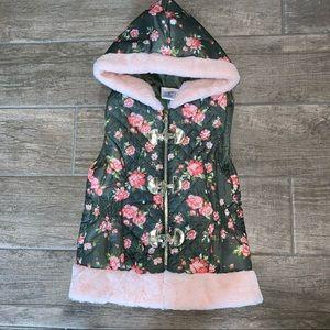 Little Lass Floral Vest